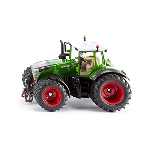 SIKU 3287, Fendt 1050 Vario Traktor, 1:32, Metall/Kunststoff, Grün, Abnehmbare Fahrerkabine, Front- und...