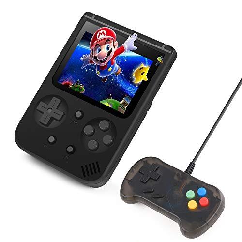 Handheld Spielekonsole, BAONUOR 500 Klassische Spiele Tragbare Retro-Videospielkonsole...