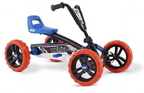 BERG Gokart Buzzy Nitro | Kinderfahrzeug, Tretauto, Sicherheid und Stabilität, Kinderspielzeug geeignet...