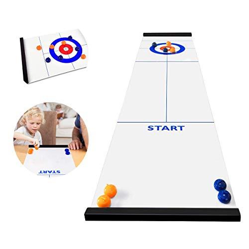 Jhua Mini Desktop-Eishockey, Interaktive pädagogische Spielzeuge für Kinder, Dekompressionsspielzeug...