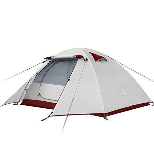 Forceatt Camping-Zelt für 2 Personen, professionell, wasserdicht, Winddicht und schädlingssicher,...