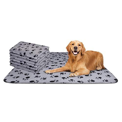Nobleza - 6 x Hundedecke Weiche Fleecedecke Waschbare Deck für Haustier Hunde Katzen Welpen Weiche Warme...