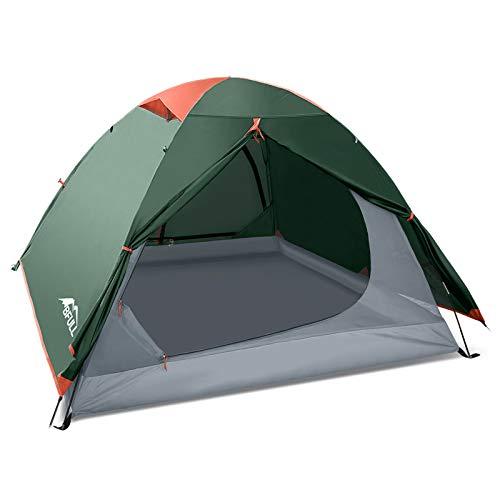 BFULL CampingZelte für Familie 2-3 Person, Ultraleicht Backpacking Zelt für Wandern, Camping im Freien,...