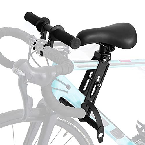 Kinderfahrradsitz Mountainbike Kindersitz Fahrrad, Vorne Montierte Fahrradsitze mit Lenker für Kinder...