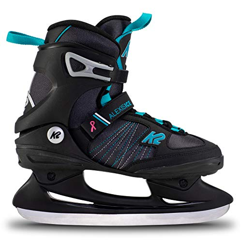 K2 Skates Damen Schlittschuhe Alexis Ice — Black - Blue — EU: 38 (UK: 5 / US: 7.5) — 25E0040
