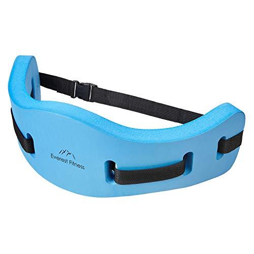 EVEREST FITNESS Aqua-Jogging-Gürtel für Wassersport und Schwimm-Training, sichere Schwimm-Hilfe bis 100...