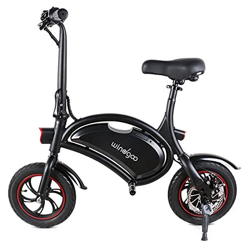 Windgoo E Scooter mit Sitz, E-Bike, 350W 36V 6AH City Blitz E-Scooter, E Roller mit Sitz, Elektrofahrrad,...