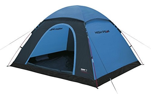 High Peak Kuppelzelt Monodome XL, Campingzelt für 4 Personen, Igluzelt, Festivalzelt mit Wannenboden,...