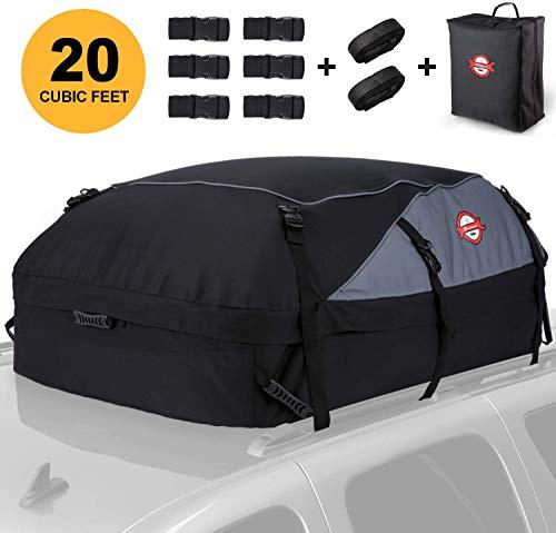 Dachbox, 580L Faltbare Auto Dachkoffer Gepäckbox Wasserdicht Tragbar Dachboxen Dachgepäckträger Tasche...