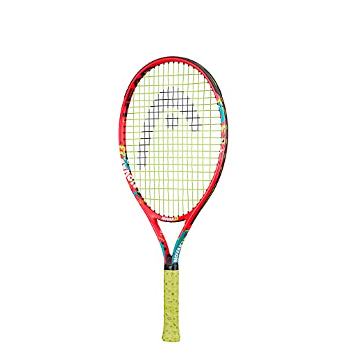 HEAD Unisex Jugend Novak 23 Tennis Racket, mehrfarbig, 6-8 Jahre