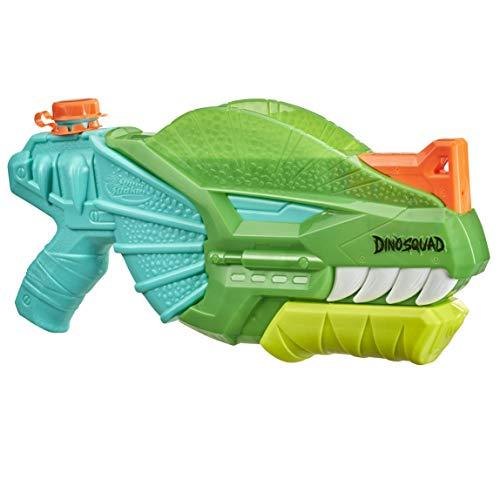 Nerf Super Soaker DinoSquad Dino-Soak Wasserblaster – Pump-Action Wasser-Attacke für Outdoor-Spiele...