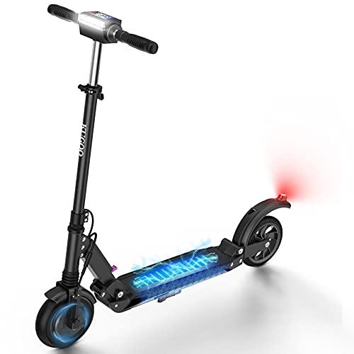 AZAMPA Elektroroller Erwachsene 30km E Roller 350W Elektroscooter 30kmh E Scooter mit LCD-Display...