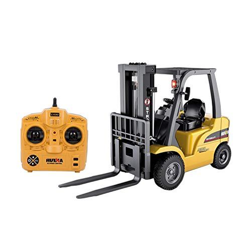 efaso Huina 1577 RC Gabelstapler und Kran 1:10 mit 2,4GHz 8 Kanal LKW BAU Auto Fahrzeug Spielzeug mit...
