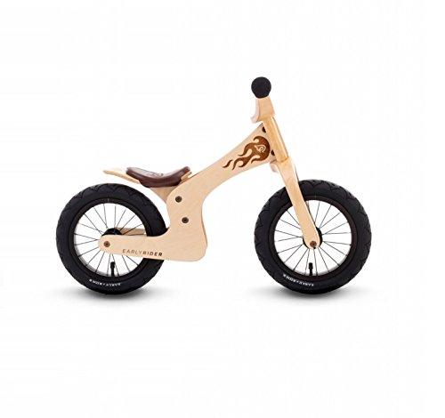 EARLY RIDER Kinder Fahrrad Lite, Brown/Naturholz, 18 Monate bis 3.5 Jahre