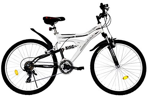 T&Y Trade 26 Zoll Kinder Mädchen Herren Damen MTB Mountainbike Kinderfahrrad Mädchenfahrrad Fahrrad Rad...