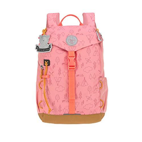 LÄSSIG Kinder Wanderrucksack Kinderrucksack Ausflug ab 3 Jahre /Outdoor Backpack Adventure Rosa, 9 L