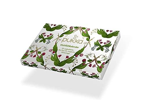Pukka BIO Tee Wohlfühl- und Adventskalender 2021 (mit 24 Bio-Tees nach Ayurveda Tradition) für...