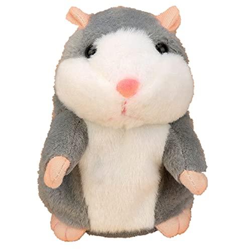 Daodan Sprechender Hamster Plüsch-Spielzeug Wiederholt was Sie Sagen Mimikry Haustier Elektronische...