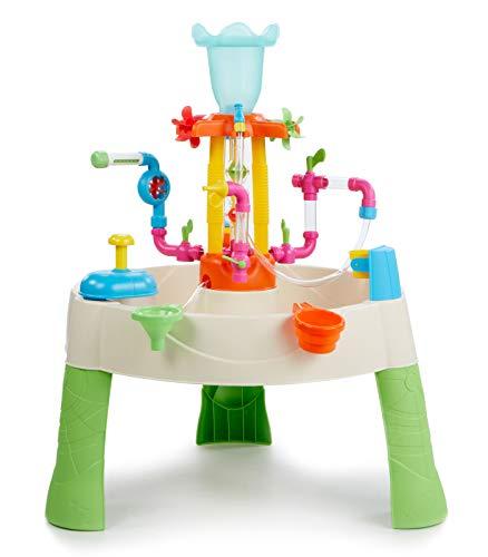 Little Tikes Fountain Factory Wassertisch, Garten-Spielzeug, Sicherer und Tragbarer Kindertisch,...