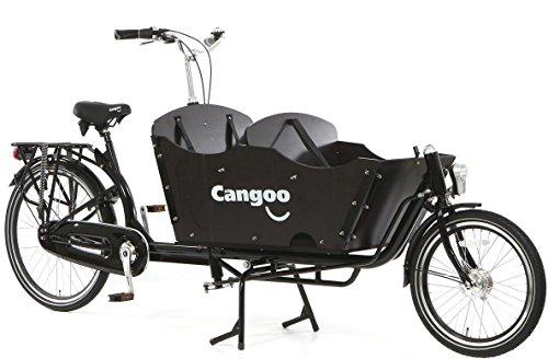 Transportrad Tangoo Downtown Plus schwarz