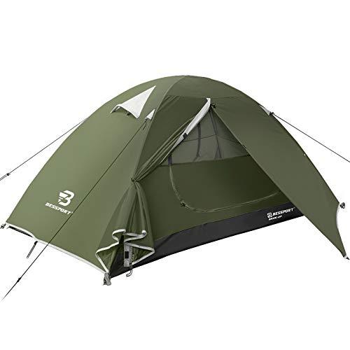 Bessport Zelt 2 Personen Ultraleichte Camping Zelte Wasserdicht 3-4 Saison Kuppelzelt Sofortiges...