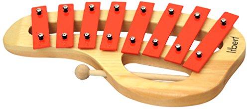 Liberi LTH8H Xylophon - Kinder-Xylophon, Holzspielzeug für Kinder und Babys ab 1 Jahr, Lehrinstrument,...