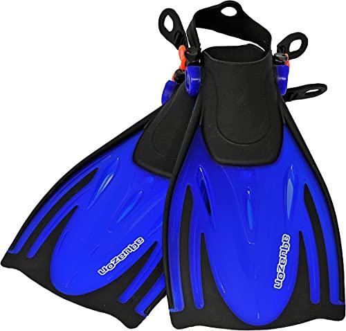 aquazon Alicante Verstellbare Flossen, Schnorchelflossen, Taucherflossen, Schwimmflossen für Kinder und...