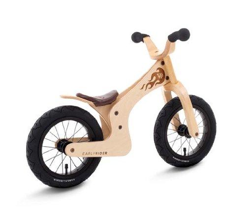 Streetsurfing Kinder Lauflernrad Early Rider Lite, Natural, Rahmenhöhe: 30.48 cm, Reifengröße: 12 Zoll...