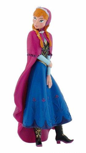 Bullyland 12960 - Spielfigur, Disney Die Eiskönigin - Frozen, Prinzessin Anna, ca. 9,5 cm, ideal als...