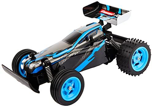 Carrera 2,4GHz RC Blauer Race Buggy I ferngesteuertes Auto ab 6 Jahren für drinnen & draußen I...