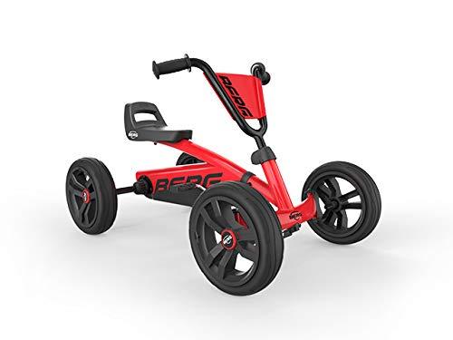 BERG Gokart Buzzy Red | Kinderfahrzeug, Tretauto, Sicherheid und Stabilität, Kinderspielzeug geeignet...