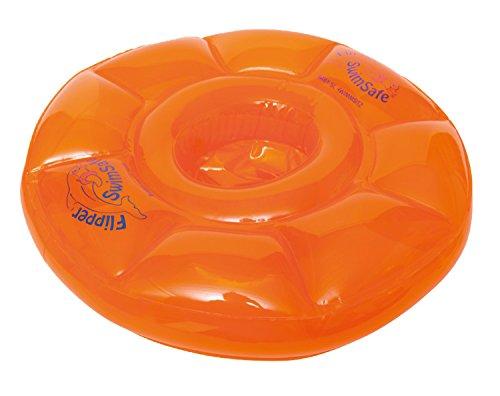 Flipper SwimSafe 1040 - Schwimmsitz, für Babys ab 3 Monaten, mit 3 Luftkammern, ohne Gurte, Durchmesser...