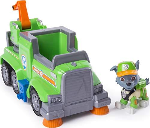 PAW Patrol Ultimate Rescue Basis Fahrzeug mit Figur - Rocky