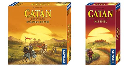Kosmos - Catan - Städte & Ritter, neue Edition Strategiespiel & - Catan - Ergänzung für 5-6 Spieler,...