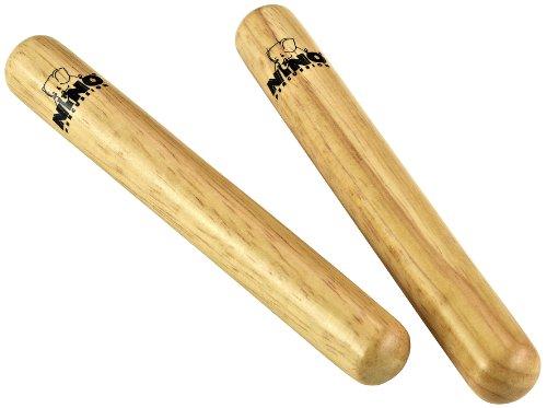 Nino Percussion NINO502 Paar Claves aus Holz Größe Small