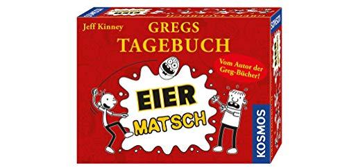 Kosmos 691905 - Gregs Tagebuch - Eier-Matsch, Familienspiel von Jeff Kinney dem Autor von Gregs...