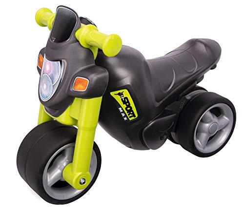 BIG-Sport-Bike Green - Kinder-Laufrad, Räder aus Premium-Softmaterial, realistischer Motorradsound...