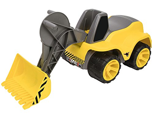 BIG 800055813 - Power-Worker Maxi Loader Kinderfahrzeug, Gelb