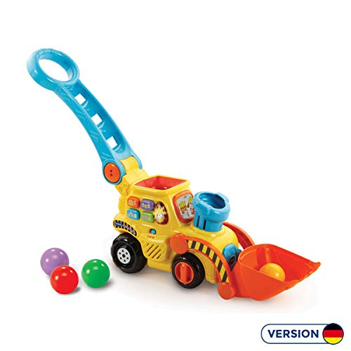 VTech Baby 80-506004 - Ballspaß Bagger