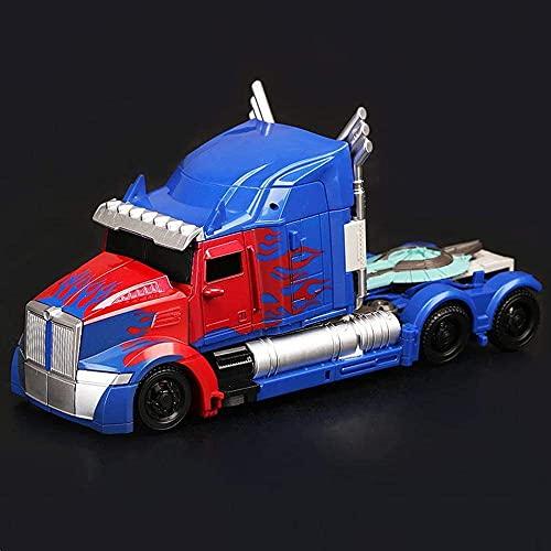 Action Figure Transformers 5 Black Mamba LKW Optimus Prime Deformierbare Kollektion Animierte Figur...