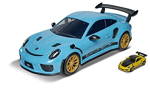 Majorette Porsche 911 GT3 RS Carry Case, Aufbewahrungsbox für 9 Autos (7,5 cm), mit original Porsche...