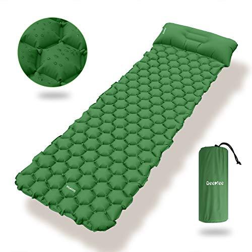 Deeplee Camping Isomatte,Einzelne Schlafmatte Ultraleichte Isomatte für Outdoor,Feuchtigkeitsfes für...