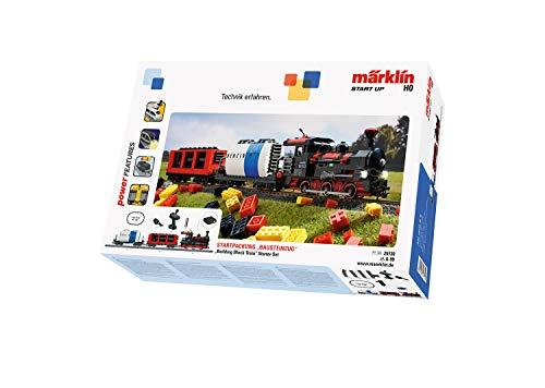 Märklin 29730 Start up ‐ Startpackung Bausteinzug, Modelleisenbahn zum Bauen, Soundfunktionen,...