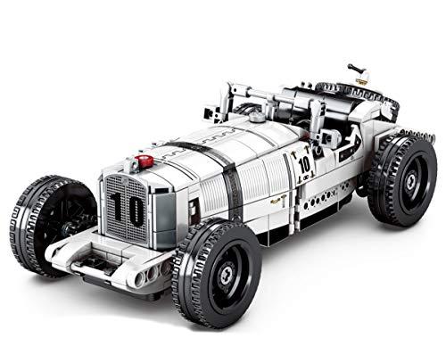 BlueBrixx 8150 Marke Sembo – Oldtimer Cabrio aus Klemmbausteinen mit 492 Bauelementen. Kompatibel mit...