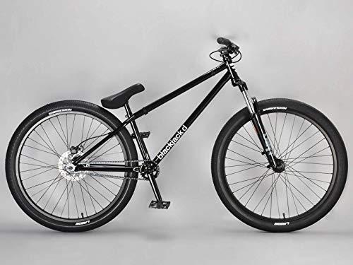 Mafiabikes Jump Bike 26 Zoll BMX Fahrrad Blackjack D Dirtbike Street Park 26' (Black)