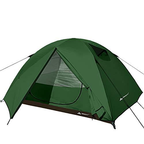 Forceatt Zelt 3 Personen Camping Wasserdicht 3-4 Saison,Ultraleicht Zelte Mit Kleinem Packmaß,...