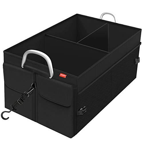 MORROLS Kofferraum Organizer, Kofferraumtasche Auto Organizer Faltbar Wasserfeste Langlebig mit...