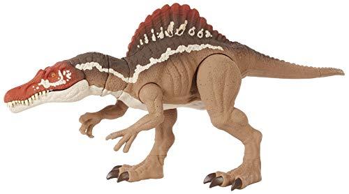 Jurassic World HCK57 - Beißender Spinosaurus, Dinosaurier-Actionfigur, bewegliche Gelenke, für Kinder...