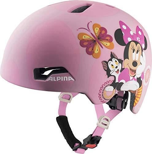 ALPINA Unisex - Kinder, HACKNEY DISNEY Fahrradhelm, Minnie Mouse, 51-56 cm