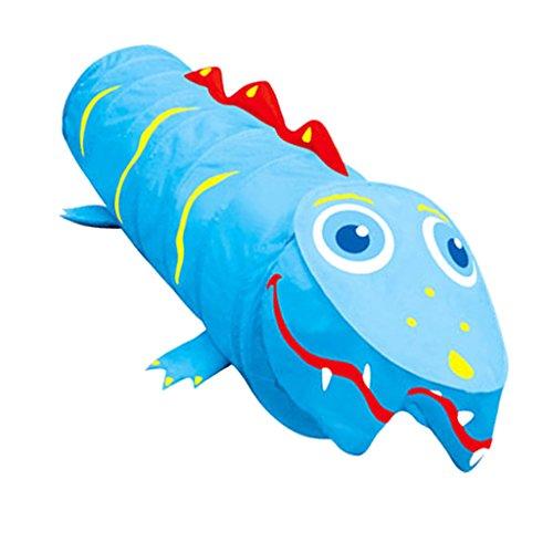Pop-Up Cartoon Krokodil Tiermodell Tunnel Kinder Garten Spielzeug, Tragbare & Faltbar